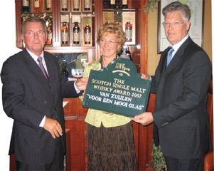 award voor Zuylen