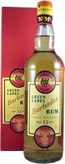 Barbados 12 Years Old - Cadenhead - Green Label  (kleur doos kan afwijken)